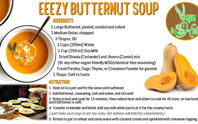 Easy Butternut Soup