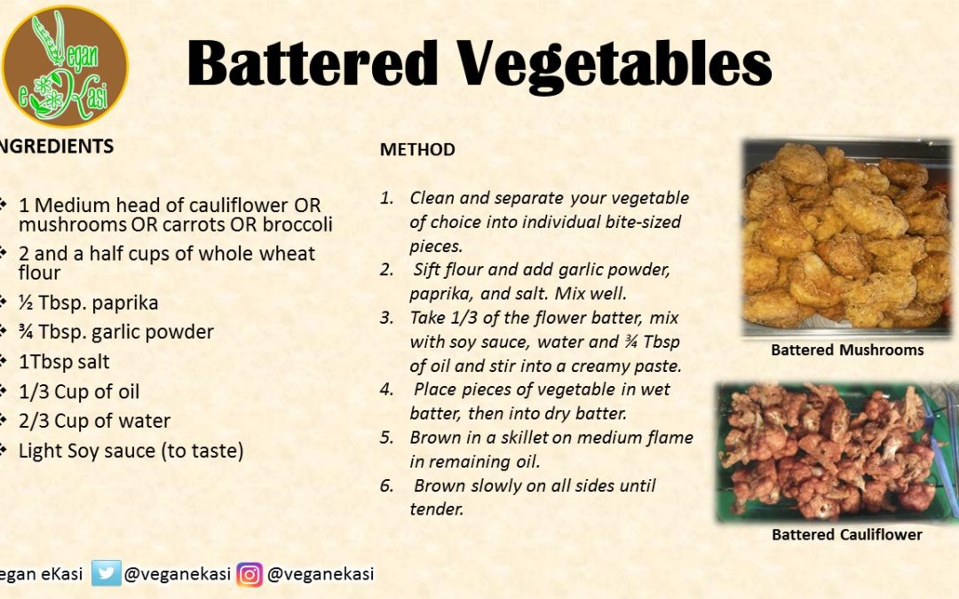 Battered Vegetables