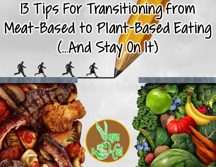 13 Tips for Transitioning from Meat-Based to Plant-Based Eating (…And Stay On It!)