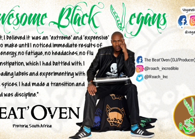 Awesome Black Vegan - Beat Oven