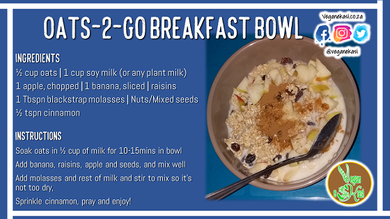Oats-2-Go Breakfast Bowl