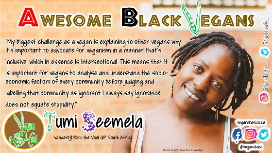 Awesome Black Vegans – Tumi