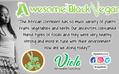 Awesome Black Vegans – Viola