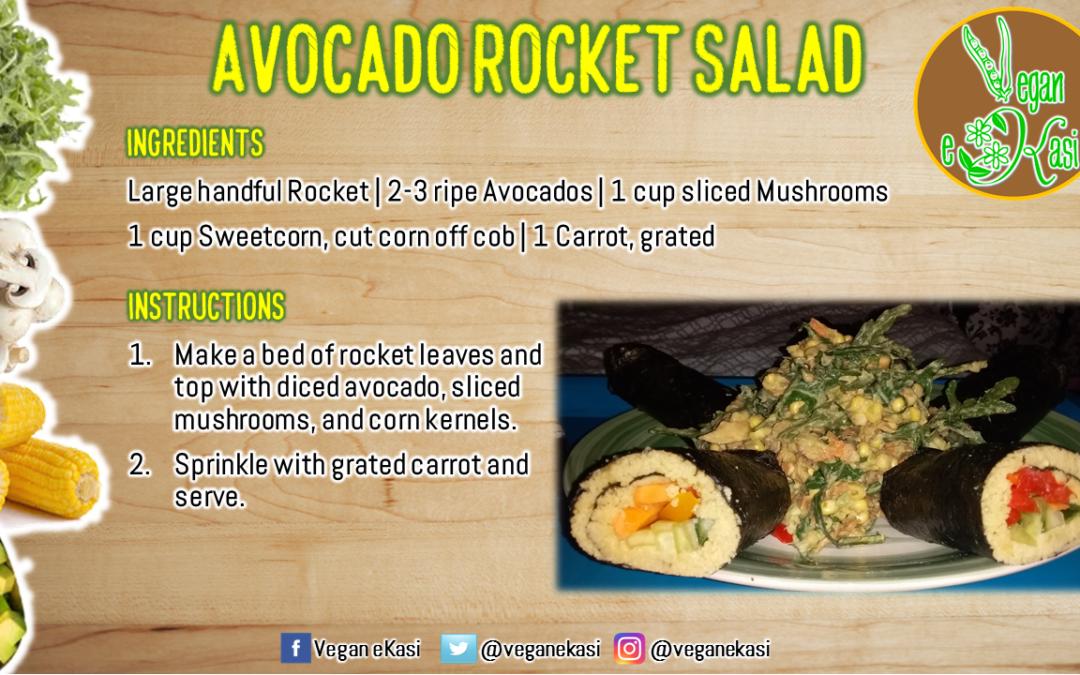 Avocado Rocket Salad