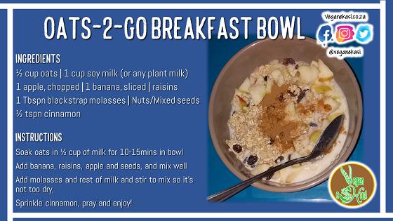Oats-2-Go Breakfast Bowl