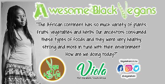 Awesome Black Vegans – Viola
