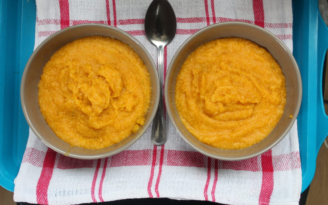 Isjingi (Pumpkin/Butternut Porridge)